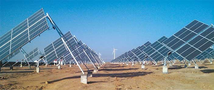 Poulek Solar Fotovoltaische Platten Solar Trackers