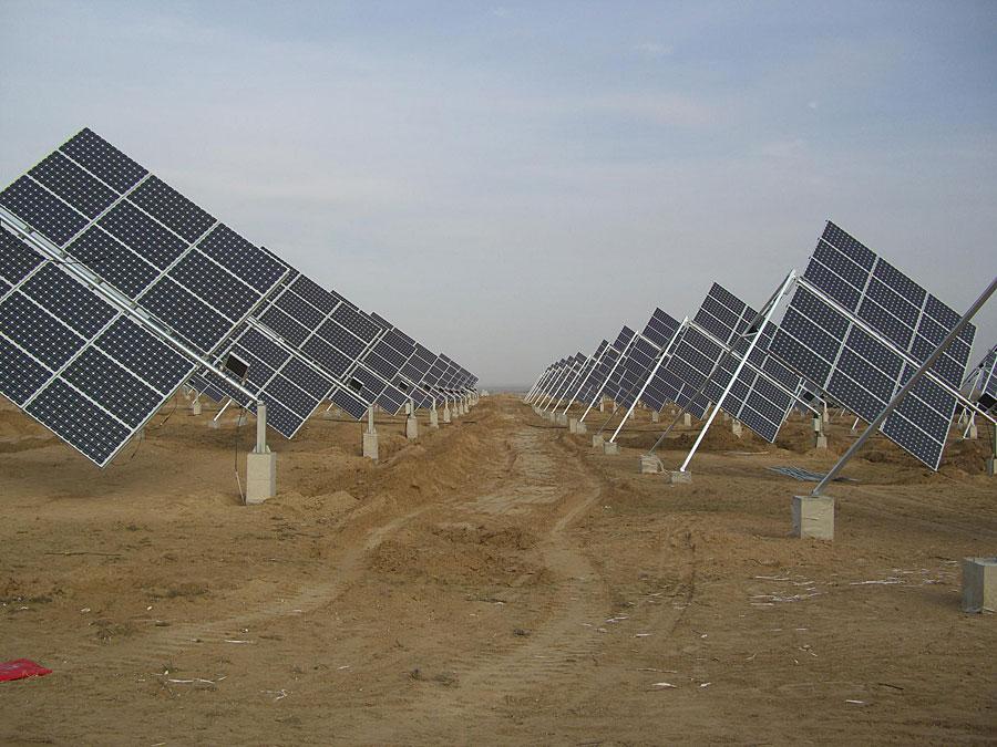 Solar Trackers & Silicone gel lamination : Photogalery