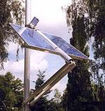 Solar tracker POULEK SOLAR, Ltd. - 150 W.