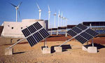 Two solar trackers POULEK SOLAR, Ltd. (1 kW system) installed on Canaria Islands.