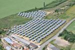 0.5 MW PV power plant Krumlov based on TRAXLE bifacial ridge concentrators